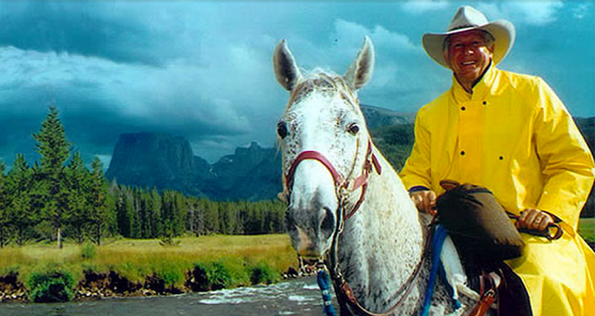 Foster Friess Yellow Slicker