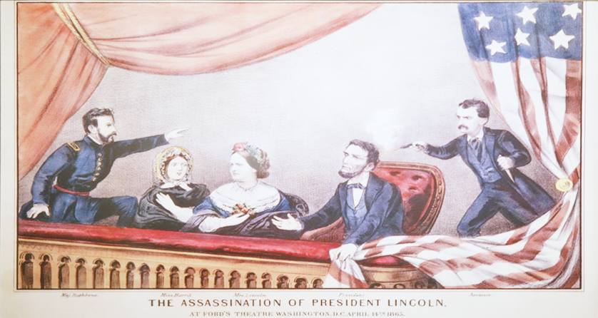 Lincoln Assassination at Ford's Theatre